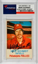 SCHMIDT, MIKE AUTO (1975 HOSTESS # 133) CARD - Mounted Memories