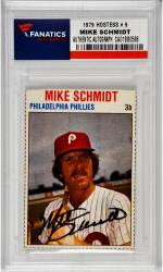 SCHMIDT, MIKE AUTO (1979 HOSTESS # 9) CARD - Mounted Memories