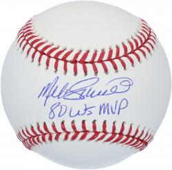 Mike Schmidt Philadelphia Phillies Autographed Baseball with 1980 WS MVP Inscription