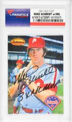Mike Schmidt Philadelphia Phillies Autographed 1994 TWCC #MS7 Card with 3 X NL MVP Inscription - Mounted Memories  - Mounted Memories