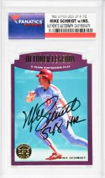 Mike Schmidt Philadelphia Phillies Autographed 1995 Upper Deck SP #112 Card with 548 HR Inscription - Mounted Memories  - Mounted Memories