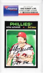 Mike Schmidt Philadelphia Phillies Autographed 2012 Topps #88 Card with 548 HR Inscription - Mounted Memories  - Mounted Memories