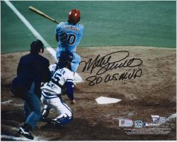 "Mike Schmidt Philadelphia Phillies Autographed 8"" x 10"" Photograph with ""1980 World Series MVP"" Inscription"
