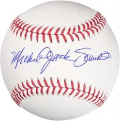 Mike Schmidt Philadelphia Phillies Autographed Baseball with Michael Jack Schmidt Inscription