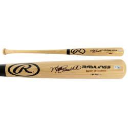 Mike Schmidt Autographed Rawling Pro Blonde Bat