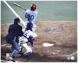 "Mike Schmidt Philadelphia Phillies World Series Autographed 16"" x 20"" Photograph"
