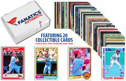 Mike Schmidt-Philadelphia Phillies- Collectible Lot of 20 MLB Trading Cards - Mounted Memories