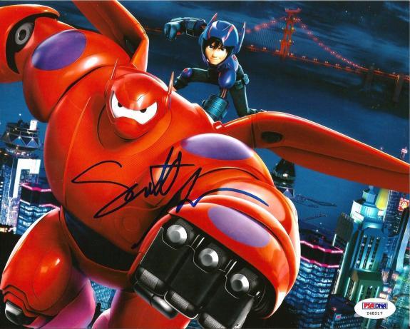 Scott Adsit BIG HERO 6 BAYMAX Signed 8x10 Photo PSA/DNA COA #1