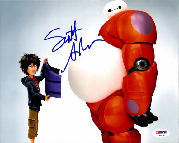 Scott Adsit BIG HERO 6 BAYMAX Signed 8x10 Photo PSA/DNA COA #2