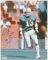 "Jake Scott Miami Dolphins SB VII Autographed 16x20 Photograph with ""MVP SB VII"" Inscription - Mounted Memories"