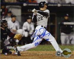 Scott Podsednik Signed 8x10 Photo - 05 Champs