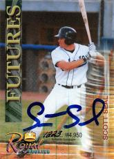 Scott Seal autographed Baseball Card (Minor League) 2000 Royal Rookies Futures Certified #27