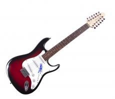 Scott Stapp Autographed Creed Signed 12-String Guitar UACC RD COA AFTAL