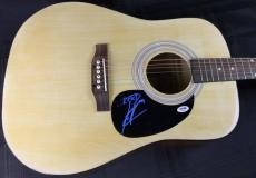 Scott Stapp Creed Signed Acoustic Guitar Autograph PSA/DNA #Q51454