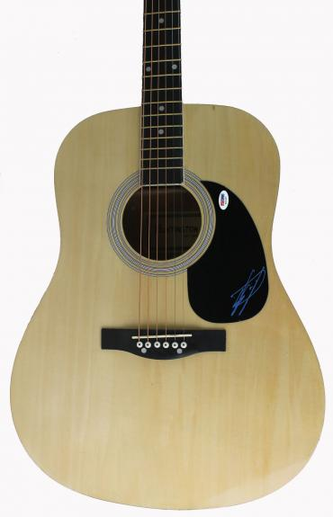 Scott Stapp Creed Signed Acoustic Guitar Autographed PSA/DNA #T21327