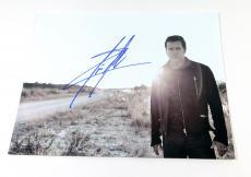 Scott Stapp Signed 11 x 14 B & W Photo Pose #7 Creed Auto
