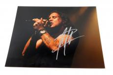 Scott Stapp Signed 11 x 14 Color Photo Pose #6 Creed Auto