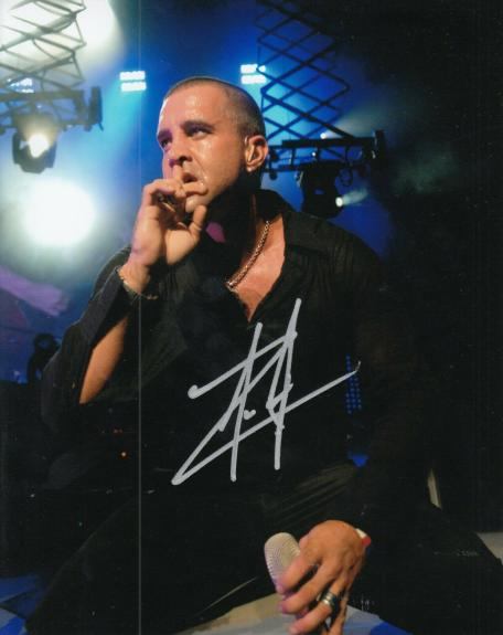 SCOTT STAPP signed (CREED) Torn Music singer autographed 8X10 photo W/COA #1