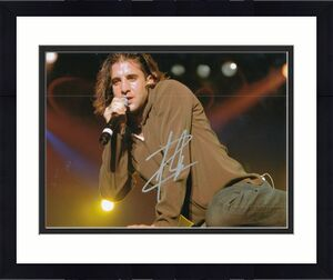 SCOTT STAPP signed (CREED) Torn Music singer autographed 8X10 photo W/COA #2