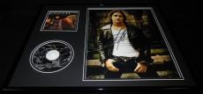 Scott Stapp Signed Framed 16x20 Creed CD & Photo Display