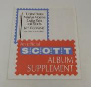 Scott US Marilyn Monroe Gutter Pairs / Blocks Item #107MAM0 National Stamp Pages