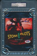 Scott Weiland Signed Core Cd Cover Stone Temple Pilots Stp Psa/dna #y72759
