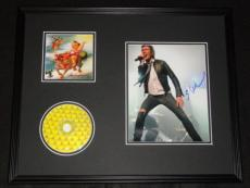 Scott Weiland Signed Framed 16x20 Stone Temple Pilots CD & Photo Display AW