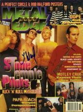 SCOTT WEILAND Stone Temple Pilots Autographed Signed Magazine Authentic AFTAL