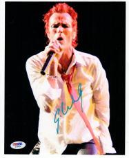 Scott Weiland Stone Temple Pilots signed 8x10 photo PSA/DNA auto Velvet Revolver