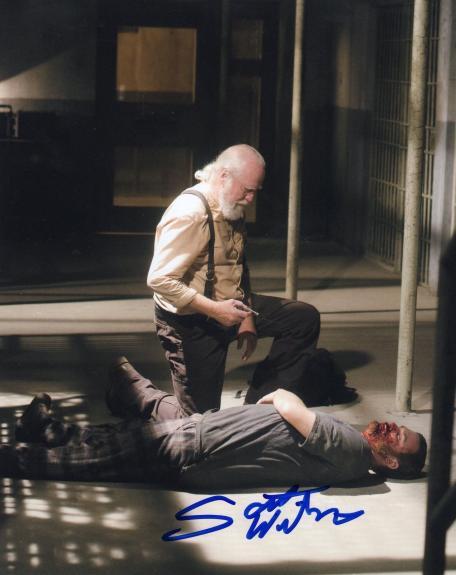 Scott Wilson The Walking Dead Hershel Greene Signed 8x10 Photo w/COA #12