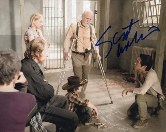 Scott Wilson The Walking Dead Hershel Greene Signed 8x10 Photo w/COA #2