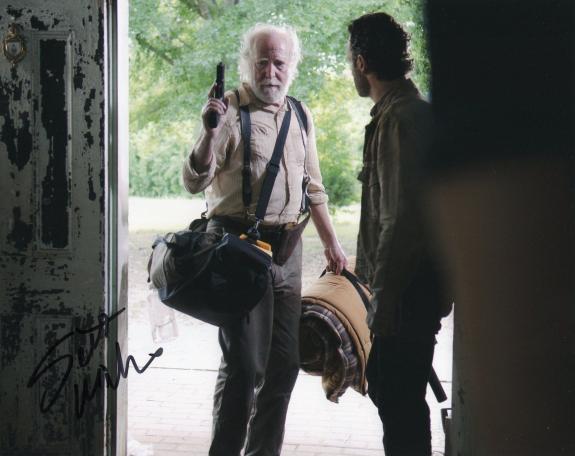 Scott Wilson The Walking Dead Hershel Greene Signed 8x10 Photo w/COA #4