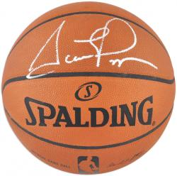 Scottie Pippen Chicago Bulls Autographed Official Game Ball