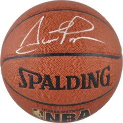 Scottie Pippen Chicago Bulls Autographed Basketball - Indoor/Outdoor