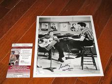 Scotty Moore Signed Elvis Presley 8x10 Photo JSA