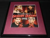 Scream Queens 2015 Fox Framed 11x14 ORIGINAL Advertisement Ariana Grande