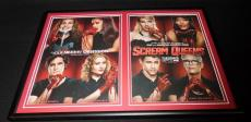 Scream Queens Framed 12x18 ORIGINAL 2015 Advertising Display Ariana Grande