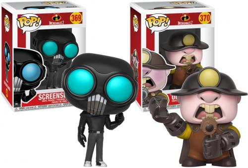 Screenslaver & Underminer The Incredibles Funko Pop! Bundle