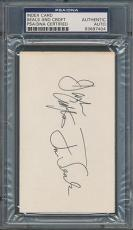 Seals And Crofts Index Card PSA/DNA Certified Authentic Auto Signed *7404