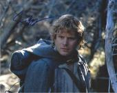 """SEAN ASTIN as SAM GAMGEE in the ACADEMY AWARD WINNING TRILOGY """"THE LORD of the RINGS"""" Signed 10x8 Color Photo"""