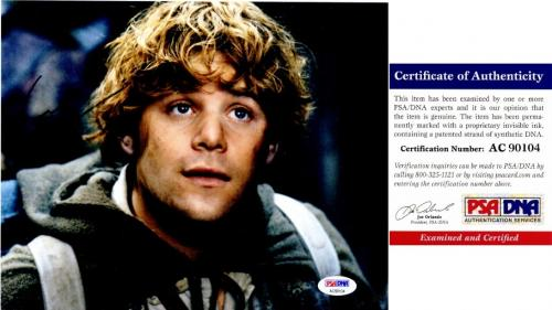 Sean Astin Signed - Autographed LORD OF THE RINGS 8x10 inch Photo - PSA/DNA Certificate of Authenticity (COA)