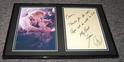 Sean Astin Signed Framed 12x18 Letter & Lord of the Rings Photo Display