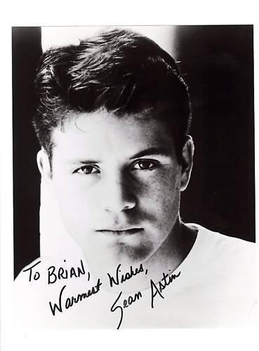 Sean Astin-signed photo