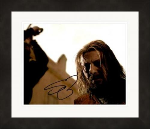 Sean Bean autographed 8x10 photo (Game of Thrones, Ned Stark) #SC1 Matted & Framed