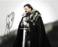 Sean Bean Signed 8x10 Game Of Thrones Authentic Autograph Coa B