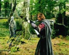 Sean Bean Signed 8x10 Lord Of The Rings Authentic Autograph Coa A