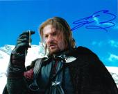 Sean Bean Signed 8x10 Lord Of The Rings Authentic Autograph Coa B