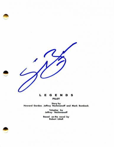 Sean Bean Signed Autograph - Legends Full Pilot Script Ned Stark Game Of Thrones
