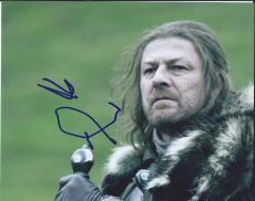 Sean Bean Signed Autographed 8x10 Photo Game of Thrones Ned Stark A