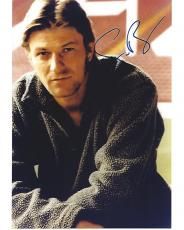 """SEAN BEAN - Well Known for His Performance as NED STARK in """"GAME of THRONES"""" and as BOROMIR in """"THE LORD of the RINGS"""" Trilogy Signed 8x10 Color Photo"""